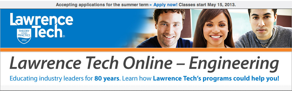 Lawrence Tech Online - Engineering