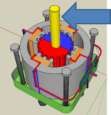 How a stepper motor works for How does a stepper motor work