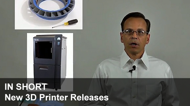 In Short #4 - New 3D Printer Releases