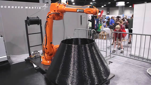 Lockheed Martin's Nanotechnology and 3D Printing Robot Arm