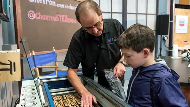 Chevron Supports STEM Education