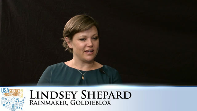 GoldieBlox's Lindsey Shepard Discusses the Key to Girls in STEM