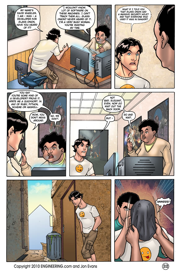 The Coder - Page 32
